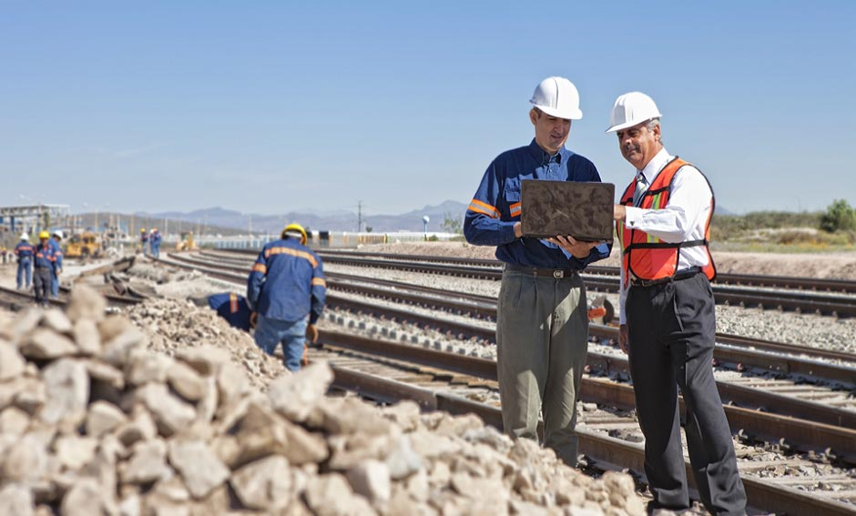 Rail Road Construction Project Management
